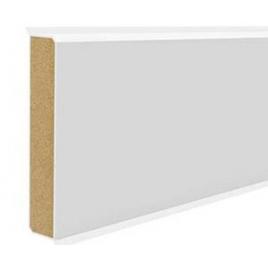 Listwa przypodłogowa Doellken Cubu Flex Life Biała 80 mm