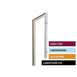 Ościeżnica regulowana bezprzylgowa DIN DUO POL-SKONE High top / Lamistone CPL / Silkstone / Laminowane