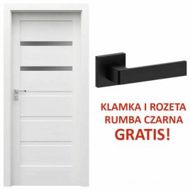Drzwi wewnętrzne Porta Verte Home Grupa H model H.2 + KLAMKA I ROZETA GRATIS!