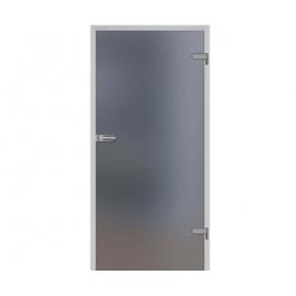 Drzwi szklane wewnętrzne DRE Galla 1 Decormat Grafit