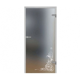 Drzwi szklane wewnętrzne DRE Galla 13 Decormat