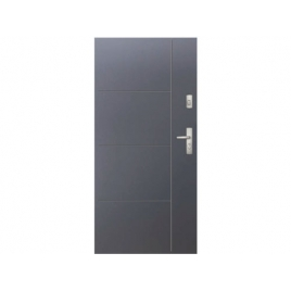 Drzwi zewnętrzne KMT Stal Plus 54 Wzór 14A
