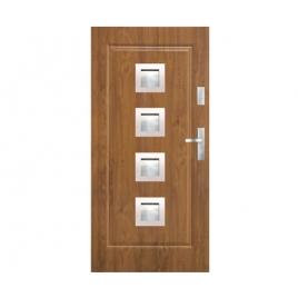 Drzwi zewnętrzne KMT Stal Plus 54 Wzór 10s4 Inox