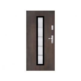 Drzwi zewnętrzne KMT Stal Plus 75 Wzór 11s1 Inox
