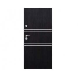 Drzwi zewnętrzne Delta Universal 56S Gładkie Aplikacja Inox M3