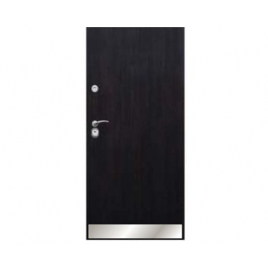 Drzwi zewnętrzne Delta Universal 56S Gładkie Aplikacja Inox K1