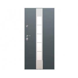 Drzwi zewnętrzne Delta Universal 56S Gładkie Drabinka Plus Inox