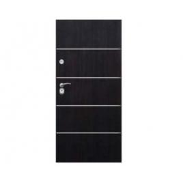 Drzwi zewnętrzne Delta Perfect 68X Gładkie Aplikacja Inox M4