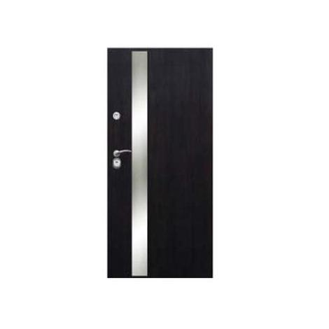 Drzwi zewnętrzne Delta Perfect 68X Gładkie Aplikacja Inox M5